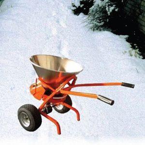 Zoutstrooiers van Dr. Weigert zorgen voor veilig verkeer in de winter