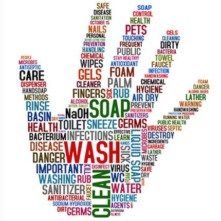 Wa's er aan de hand? Handen wassen hygiëne code 1!